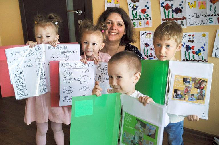 Английский для малышей в Туле